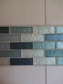 Powder Room Decorating - teal and turquoise glass tile