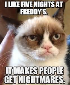 Meme maker i like five nights at freddy s it makes people get