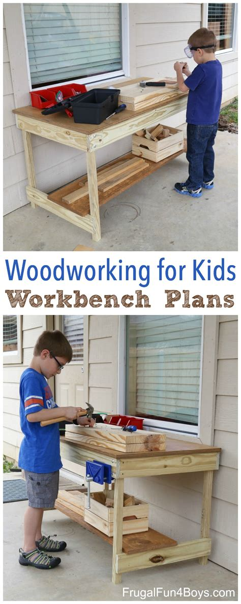 woodworking tools for children workbench plans build your own woodworking space