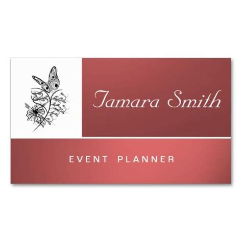 Event Planner Business Card Templates Free by Event Planner Business Card Templates Event Planners