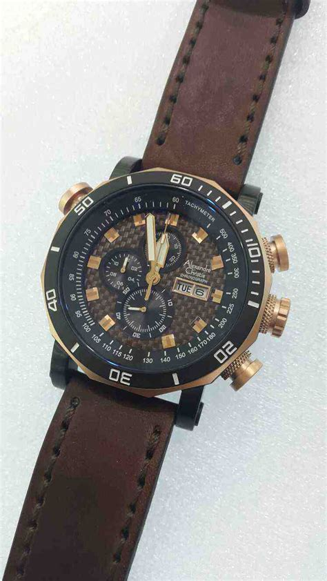 Alexandre Christie Ac2638 Brown Leather 100 Original jual alexandre christie ac 6308 all black index orange baru jam tangan terbaru murah lengkap