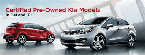 Pre Owned Kia Deland Fl Certified Pre Owned Kias Serving Daytona
