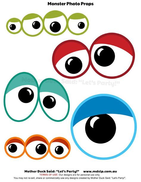 free printable monster photo booth props monster eyes printable photo props for photo booth fun