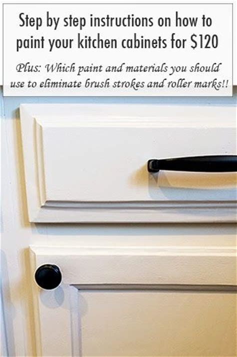 step by step on how to paint your kitchen