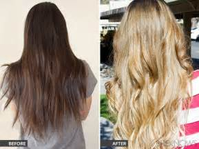 how to lighten colored hair hair column successfully go from to light hair for