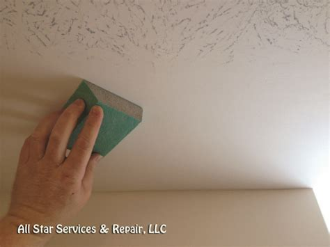 How To Fix Stipple Ceiling by How To Repair A Textured Ceiling Page 4 All