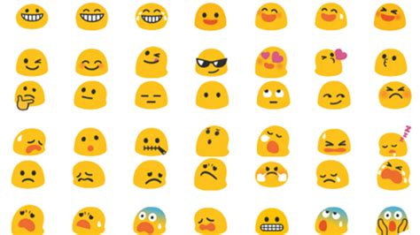 android new emojis emojis emoji world