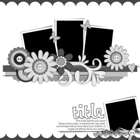 scrapbook layout templates pin by brandi on scrapbook ideas
