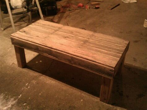 Shipping Pallet Coffee Table Up Cycled Shipping Pallet Coffee Table For 20 By Sirsalamander Lumberjocks