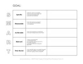 Template For Goals by Tim De Vall Comics Printables For