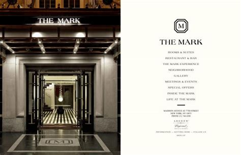 web design inspiration hotel the mark hotel new york city luxury hotels webdesign