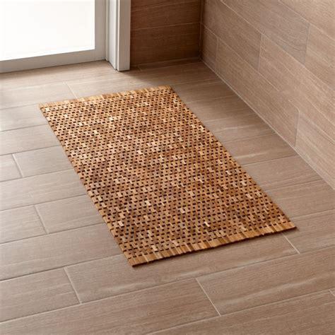 Doormat Carpet by Lattice Wooden Mat Reviews Crate And Barrel