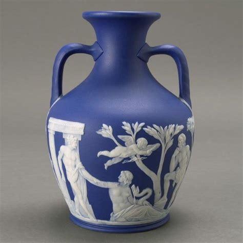 Portland Vase Wedgwood by 1211 Wedgwood Jasperware Two Handled Portland Vase Lot 1211