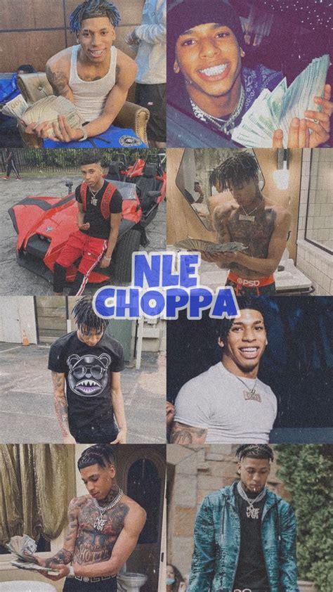 nle choppa   edgy wallpaper rap wallpaper iphone