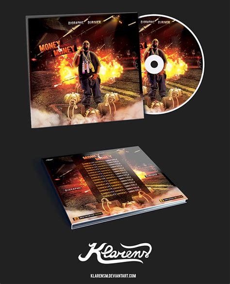 Hip Hop Mixtape Album Cd Cover Free Psd Template On Behance Cd Cover Template Psd