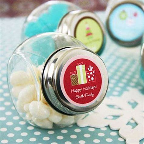 Candy Jar Giveaway - personalized mini glass holiday candy jar 500 600x600 kara s party ideas