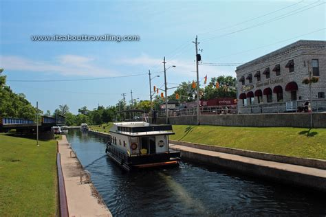 house boats ontario house boat at the locks in bobcaygeon ontario pic of