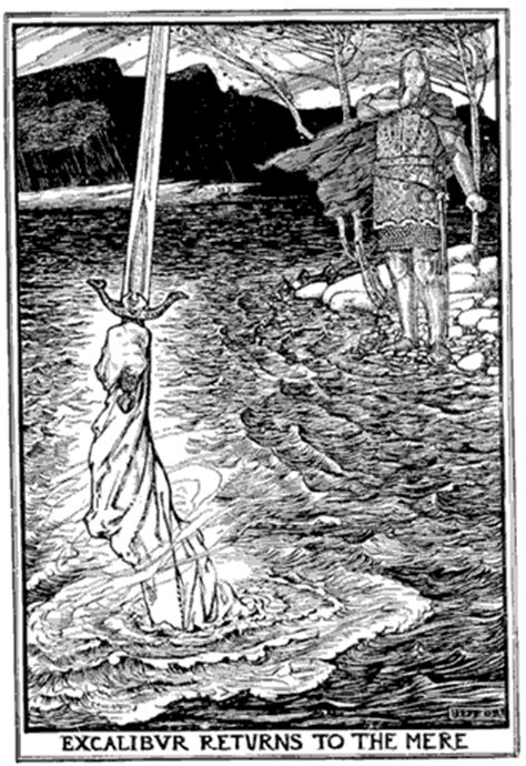 The Lady of the Lake: Excalibur and Lancelot