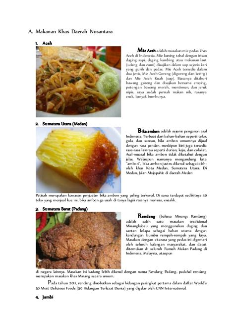 Makanan Di Ikea Indonesia makanan daerah
