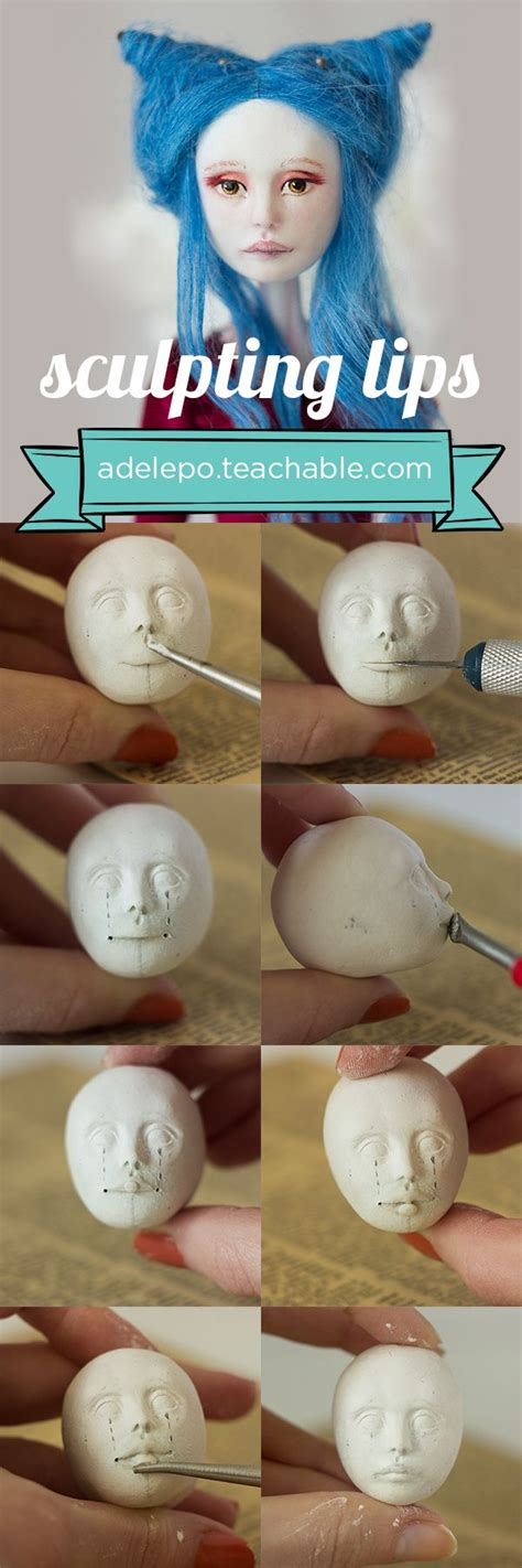doll lesson 547 best images about dolls clay techniques on
