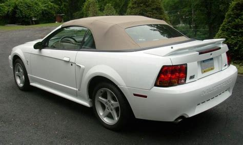 1999 white ford mustang image gallery 1999 mustang convertible