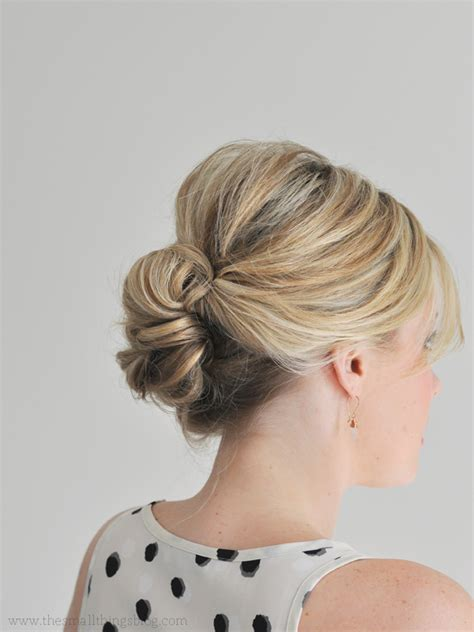 Shoulder Length Updo Tuturial | hair updo tutorials updo tutorial medium length hairs