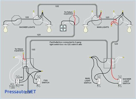 wiring a light switch from an outlet diagram