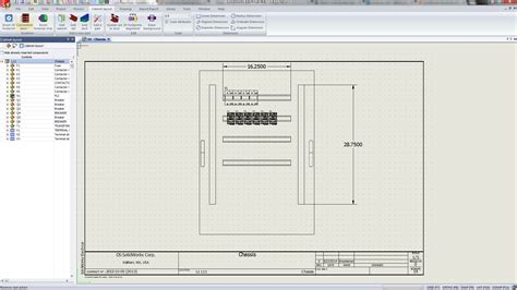 Layout Design Solidworks | solidworks electrical creating 2d layouts