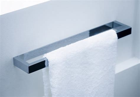 contemporary bathroom towel bars ws bath collections 49 10 40 towel bar 15 8