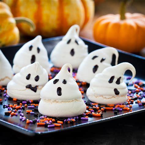 halloween treats cute food for kids 48 edible ghost craft ideas for halloween