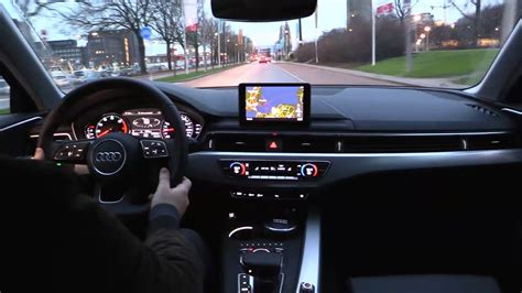 How To Drive Audi by Audi A4 2017 Test Drive Youtube