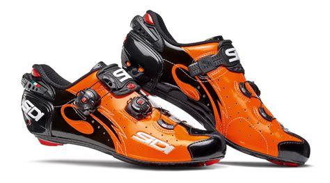 Kaos Logo Letto sidi wire carbon arancio nero scarpa bdc 2017 cicli gotti