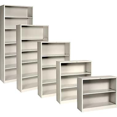 Hon 174 Brigade Metal Bookcases Putty Staples 174 Staples Bookshelves
