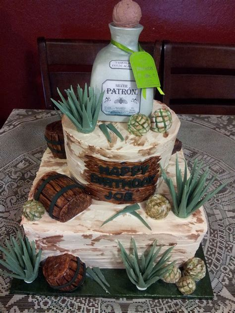 birthday tequila patron tequila cake 8 quot 12 quot round and square cakes all