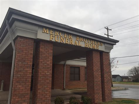mercer brothers funeral home funeral services