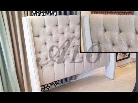 diy upholstered headboard with wings pinterest the world s catalog of ideas