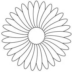 how to color flowers flower coloring template flower coloring page