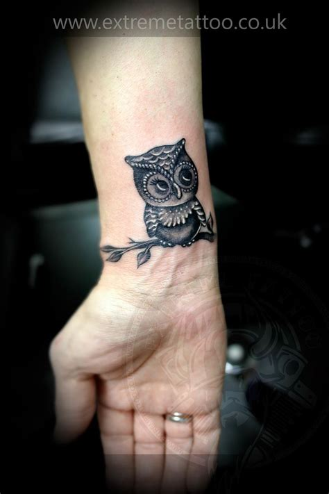 japanese owl tattoo owl gabi tomescu piercing fort