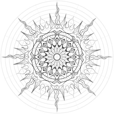mandala sun tattoo best 25 sun mandala ideas on henna drawings