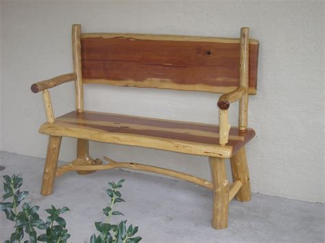 rustic furniture rustic wood log bench picture rustic