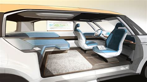 volkswagen microbus 2016 interior volkswagen s electric concept is a groovy far out