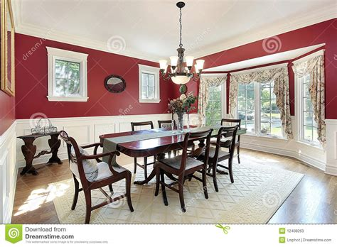 red dining room walls dining room with red walls stock photos image 12408263