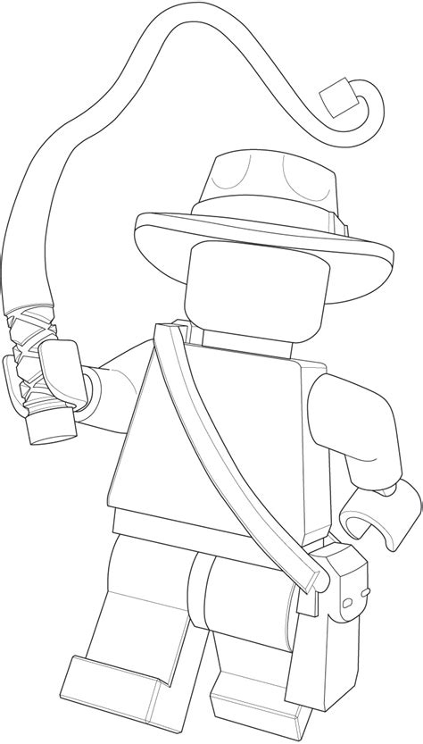 lego indiana jones free coloring pages