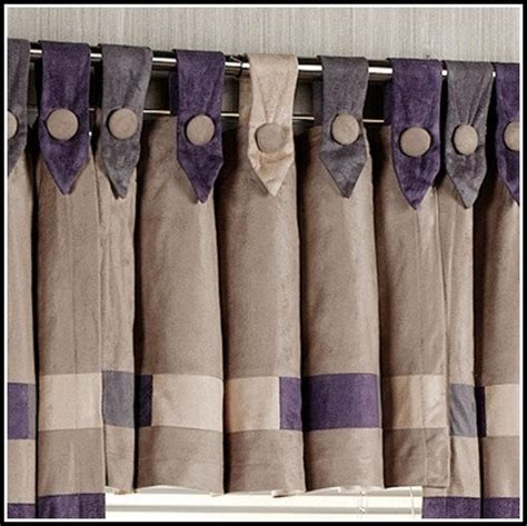 button tab top curtains button tab top curtain pattern curtains home design