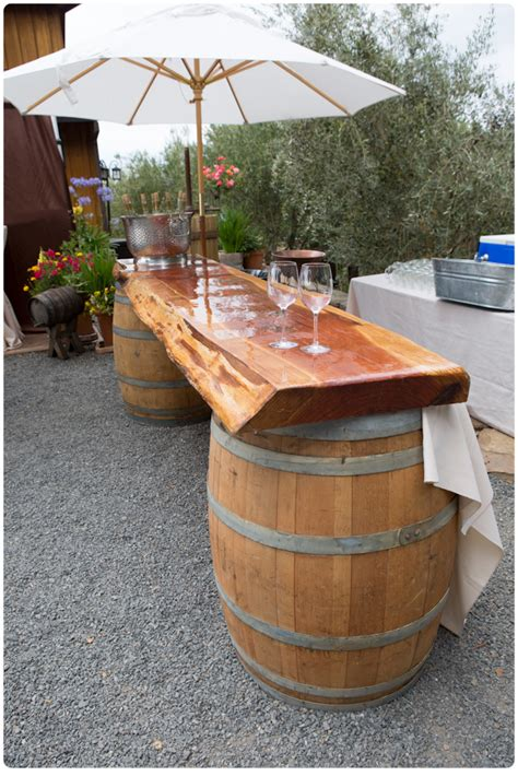 Wine Barrel Furniture Ideas You Can Diy Or Buy 135 Photos Wine Barrel Patio Table