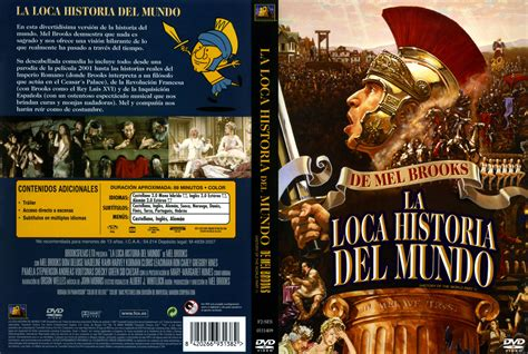 historia del mundo en car 225 tula caratula de la loca historia del mundo history of the world part i
