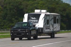 Truck Tires Towing Travel Trailer Chevrolet Joins Forces With Trailering Industry To Improve