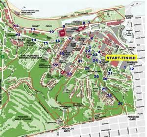 presidio trail run courses presidio rx san francisco