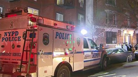 nypd man shot by police after refusing to drop knife