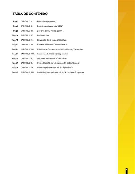 reglamento del aprendiz sena 2015 reglamento del aprendiz sena 2014